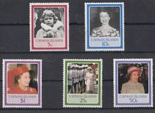 Cayman Island 1986 60 anniversario Regina Elisabetta II Mnh