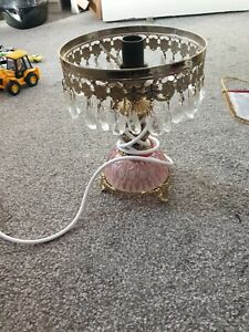 Table Desk Lamp Antique Style Lamp Light Lamps Crystal Table Chandelier Lights