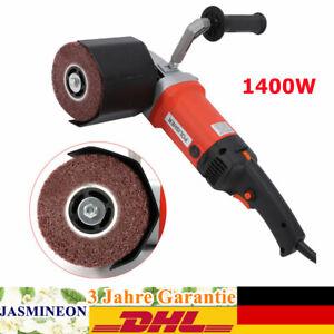 Satiniermaschine Schleifmaschine Polieren Walzenschleif Bürstenschleifer 1400W