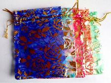 Pouvant être dessinés soie sac cadeau x10, même jour expédition