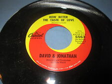 "David & Jonathan""How BitThe Taste Of Love/Michelle""/45/"