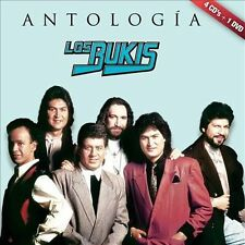 Antologia Musical [CD/DVD] by Los Bukis (CD, Nov-2013, 5 Discs, Fonovisa)