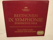 HERBERT VON KARAJAN - BEETHOVEN SYMPHONIE NR.8 - 2 LP - DEUTSCHE GRAMMOPHON