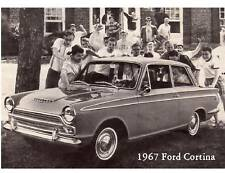 1967 Ford Cortina  Refrigerator Magnet