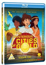 Mysterious Cities Of Gold: Series 2: The Adventure Continues Blu ray NEW SEALED