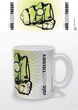 Official The Big Bang Theory Fist Ring Mug Warner Bros Bazinga Sheldon Gift