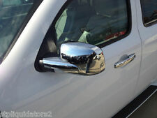 Chevrolet HHR Chrome Custom Molded Side Mirror Covers Whole Mirror No Drilling