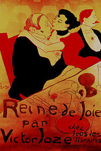 LARGE CANVAS PRINT VINTAGE FRENCH  ART RED LARGE SIZE 800mm PAINTING EUROPE