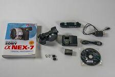 Sony Alpha NEX-7 24.3 MP Digital Camera - Black (Body Only) also big book