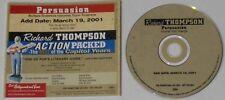 Richard Thompson Teddy Thompson  Persuasion  U.S. promo cd