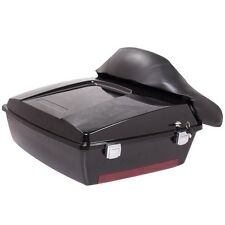 Black Tour Pak Trunk Pack for Harley Davidson touring Electra Glide Road King
