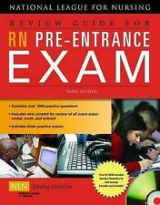 NEW Review Guide For RN Pre-Entrance Exam by NATL LEAGUE NURSING