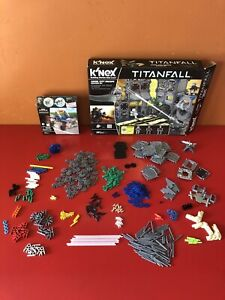 KNEX LOT - 440 Pieces - Titan Fall Truck Building INCOMPLETE Spare Parts NO BOX