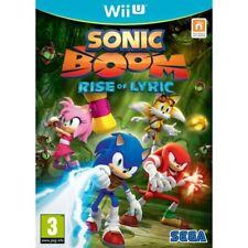 Sonic Boom Rise of Lyric Wii U Like Australian SELLER