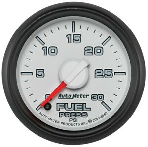 "Auto Meter 8560 2-1/16"" Gen 3 Dodge Factory Match Fuel Pressure Gauge NEW"
