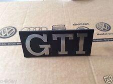 VW GOLF MK1 GTI GENUINE GRILLE BADGE, CABRIO GTI NOS GENUINE VAG PART EXCELLENT