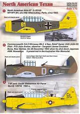 Print Scale Decals 1/72 NORTH AMERICAN T-6 TEXAN American WWII Trainer