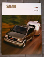 GMC SAFARI 2000 dealer brochure - French - Canadian Market