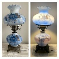 Vintage Accurate Casting 3 Way Hurricane Gone With The Wind Lamp Antebellum