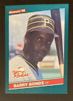 1986 Donruss Barry Bonds #11 The Rookies Baseball Card (RC) - Pittsburgh Pirates