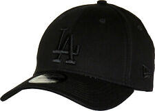 LA Dodgers New Era 940 League Essential All Black Baseball Cap