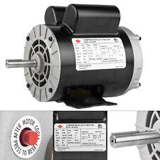 2 Hp Spl Compressor Duty Electric Motor 3450 Rpm 56 Frame 58 Shaft 120240 V
