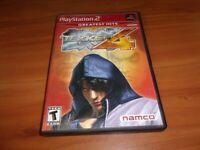 Tekken 4 (Sony PlayStation 2, 2002)  Complete PS2