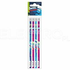 SMERFY | HB Pencils with Eraser Tops (Pack of 4) Smurfs Pencils