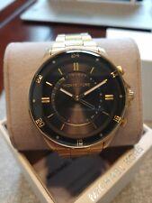 Michael Kors Men's Gold Access Reid Hybrid Bracelet Watch 0814