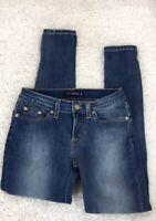 Levi's 535 Super Skinny Stretchy Jeans Denim Leggings Sz 7