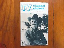 1981 TV Channel Choices Mag(RON  HOWARD/FIRE ON THE MOUNTAIN/ANDY  GRIFFITH SHOW