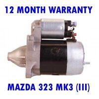 MAZDA 323 MK3 (III) 1.1 1.5 1985-90 RMFD STARTER MOTOR 12 MONTH WARRANTY