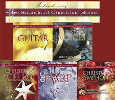 THE SOUNDS OF CHRISTMAS 5 CD set GUITAR - VOICES - CELLO - HARP - SYMPHONY - NEW