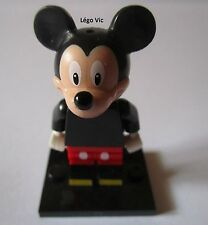 Légo 71012 Minifig Figurine Série Disney Mickey Mouse + Socle + fiche