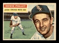 1956 Topps Set Break # 262 Howie Pollet EX-MINT *OBGcards*