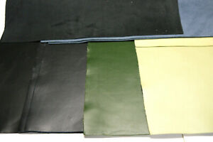 """Large Leathers panels 5 pieces 4 colors 18"""" x 24"""" Soft first Quality"""