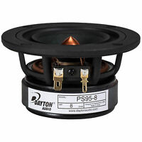 "Dayton Audio PS95-8 3-1/2"" Point Source Full-Range Driver 8"