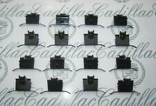 1961-1964 Cadillac Convertible Pinchweld Belt Molding Clips. Full set of 16