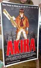 "Original 1989 Akira  poster 27""x41""  movie  streamline NO Damage at all"