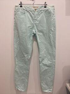 Country Road Ladies Designer light Aqua Slim leg Jeans size 12 GRT