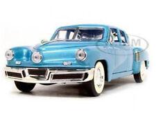 1948 TUCKER TORPEDO BLUE 1:18 DIECAST MODEL CAR  BY ROAD SIGNATURE 92268
