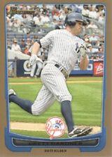 2012 Bowman Baseball Gold #11 Brett Gardner New York Yankees