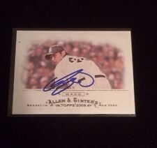 CHIEN-MING WANG 2009 TOPPS ALLEN GINTERS Autographed Signed Baseball Card 27