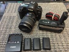 Canon EOS 5D Mark II 21.1MP Digital SLR Camera w/28-135MM Lens /Grip & 3 battery