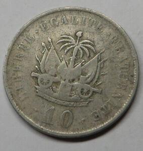 Haiti 5 Centimes 1905(w) Copper-Nickel KM#53