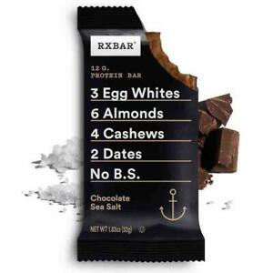 RXBAR, Chocolate Sea Salt, Protein Bar, 1.83 Ounce (12 count)