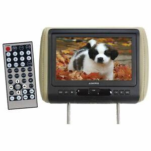 Audiovox 9″ Car Headrest Monitor w/ DVD Player & Color Skins - AVXMTGHR9HD