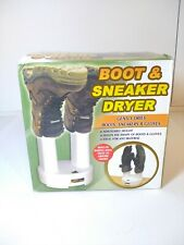 Boots, Sneakers, and Gloves Dryer Adjustable Height - NEW Open Box