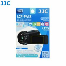 "JJC LCP-PA35 Film Screen Display Protector for Panasonic 3.5"" LCD Camcorders x2"