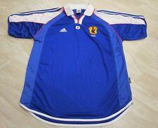 RARE VTG Adidas Climalite Japan JFA World Cup Collared Soccer Jersey Kit Large